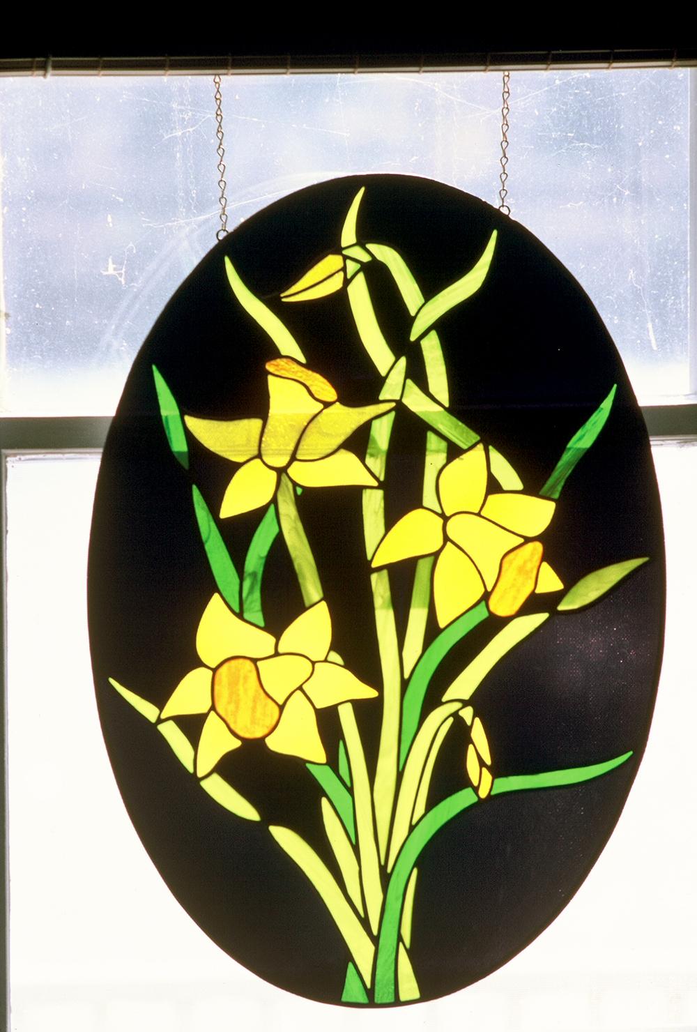 Spring Daffodils panel