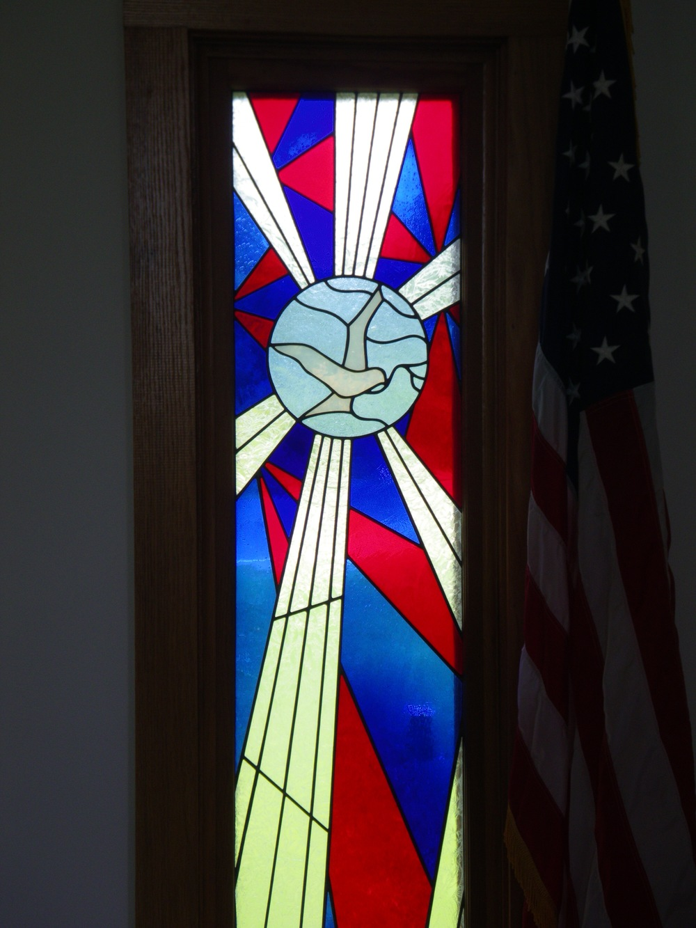 Holy Spirit/Olive Branch Bicentennial Window
