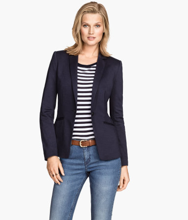 H&M Jersey Blazer
