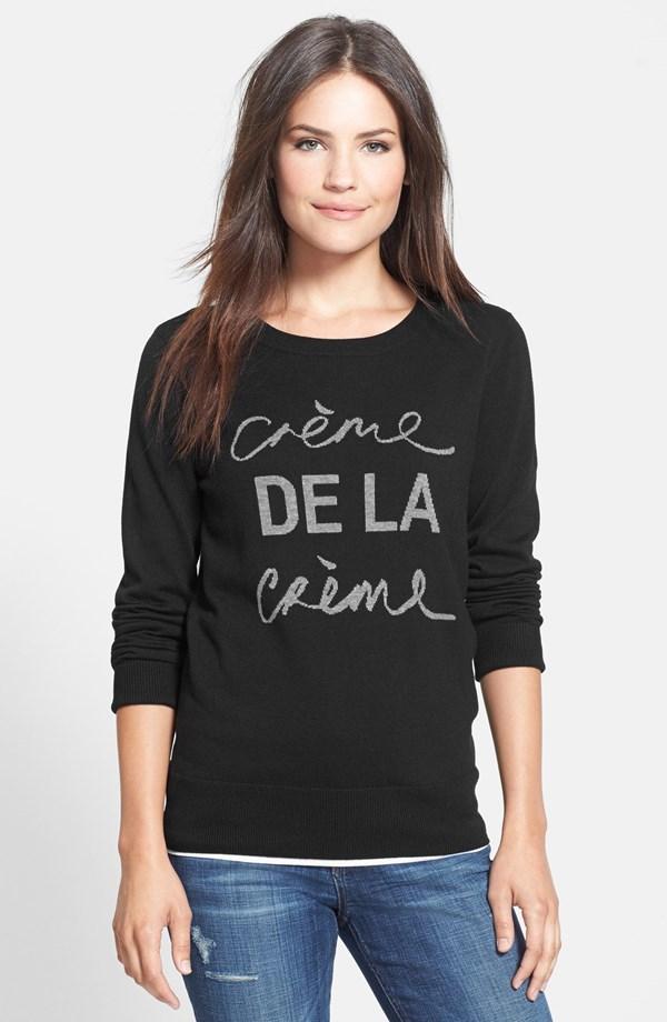 Creme Sweatshirt