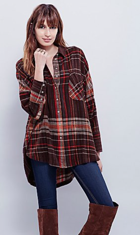 http://www.freepeople.com/shop/plaid-molly-tunic/?CMCATEGORYID=683d4023-53f5-4900-b5ce-ecf465df31a9&searchString=plaid%20tops