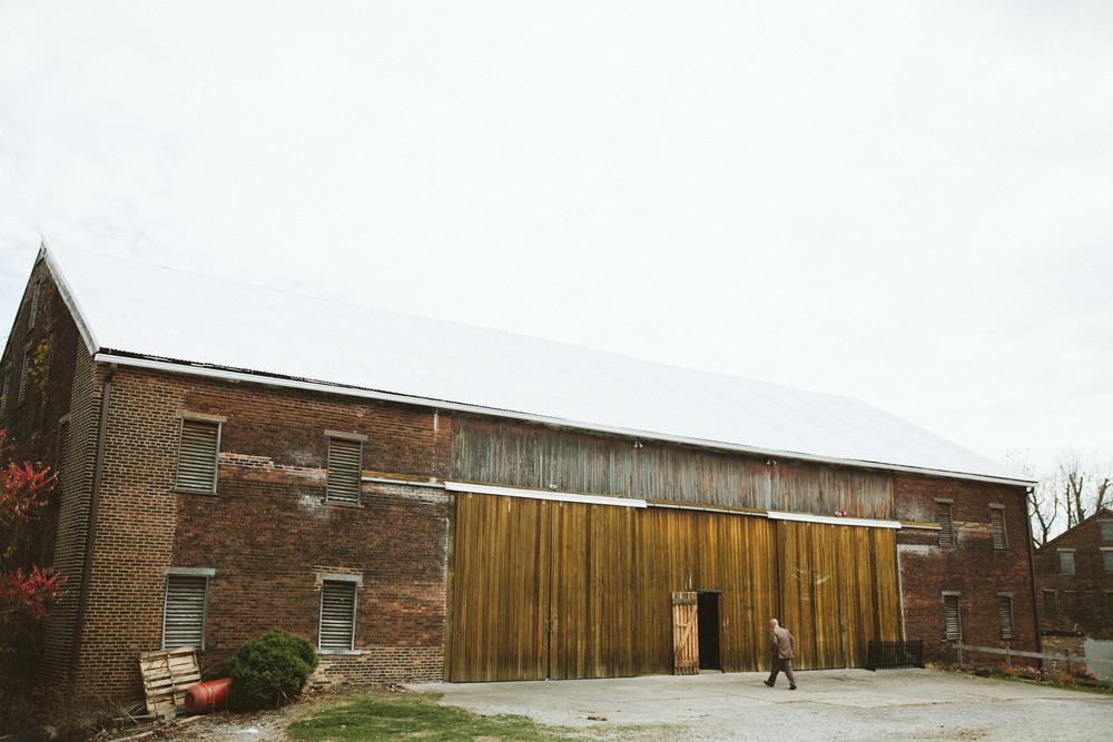 west overton barn - photo courtesy of hot metal studio