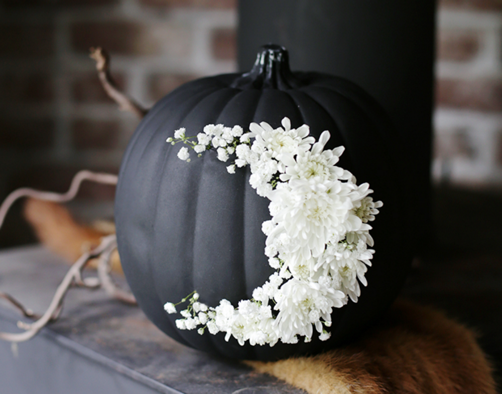fresh flroal moon pumpkin - pic from the merry thought