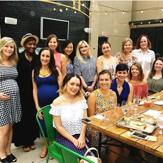 It was great to get out at @thebiergartenpgh last night and think about something other than work and baby stuff!  Always love catching up with our @stylesocialpgh group and adding new faces to the mix!  #stylishpittsburgh