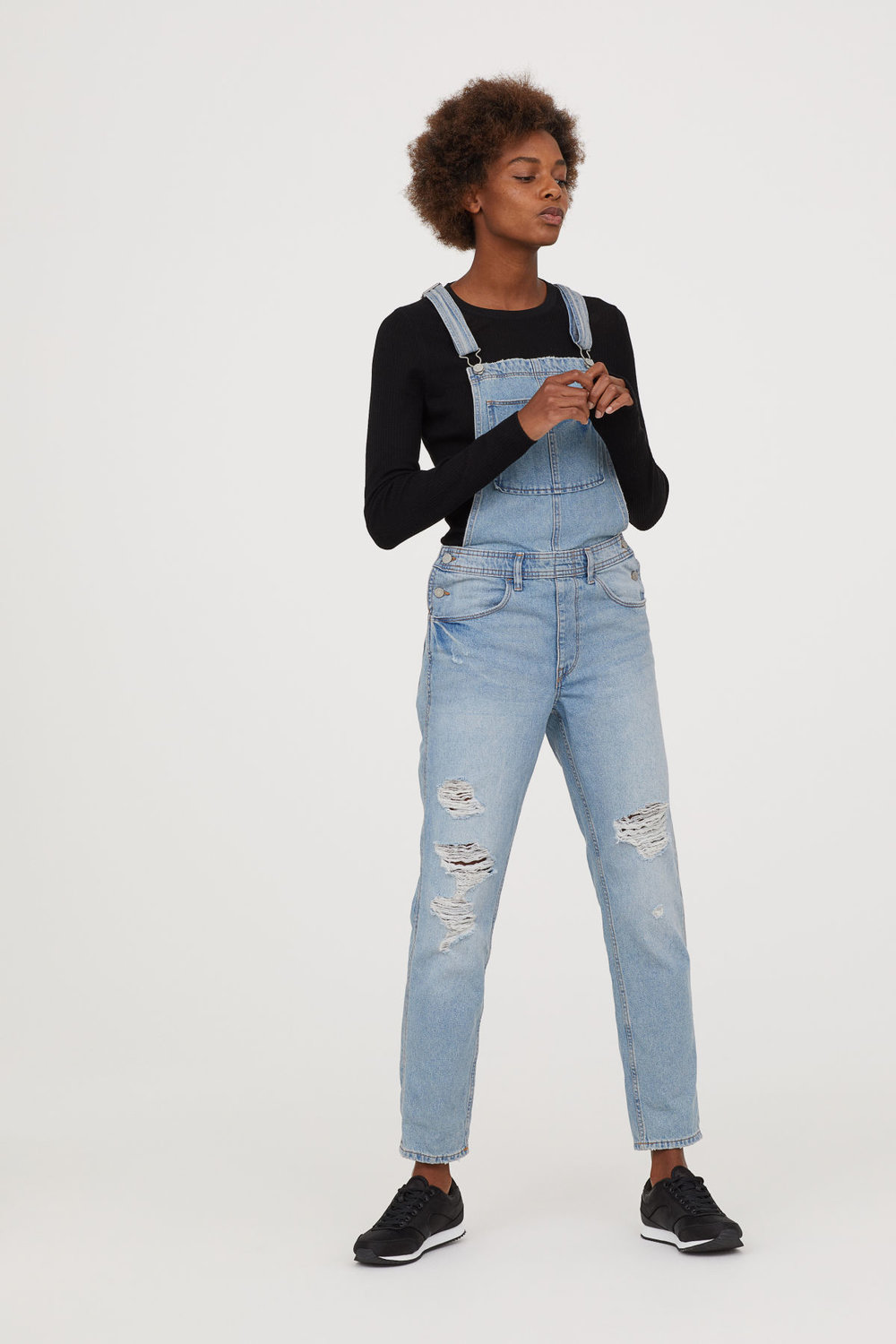 H&M Denim Overalls - $39.99