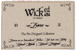 Printed Label Wicked
