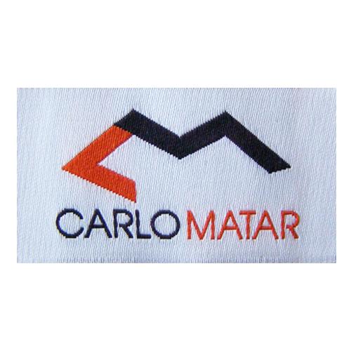 Woven Label Carlo Matar