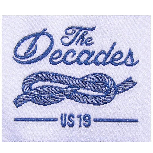 Woven Label The Decades