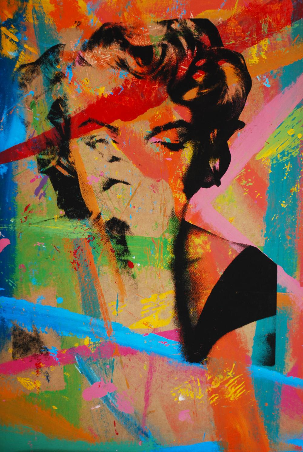 Marilyn 3. 20 x 13 in