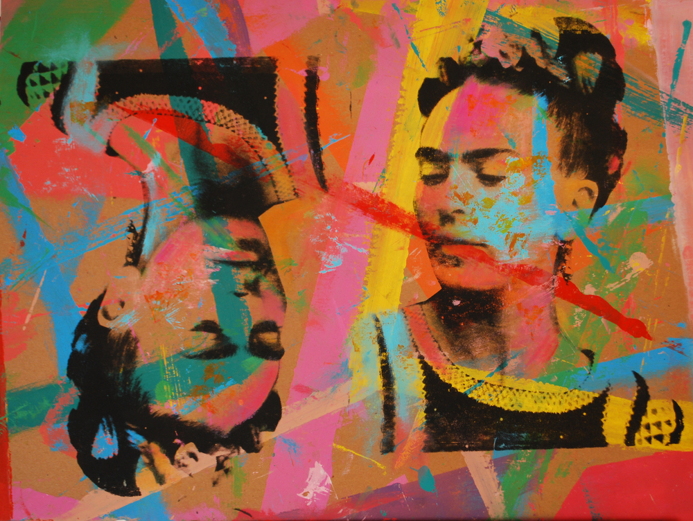 Frida 1. Over Carton  18 x 24 in