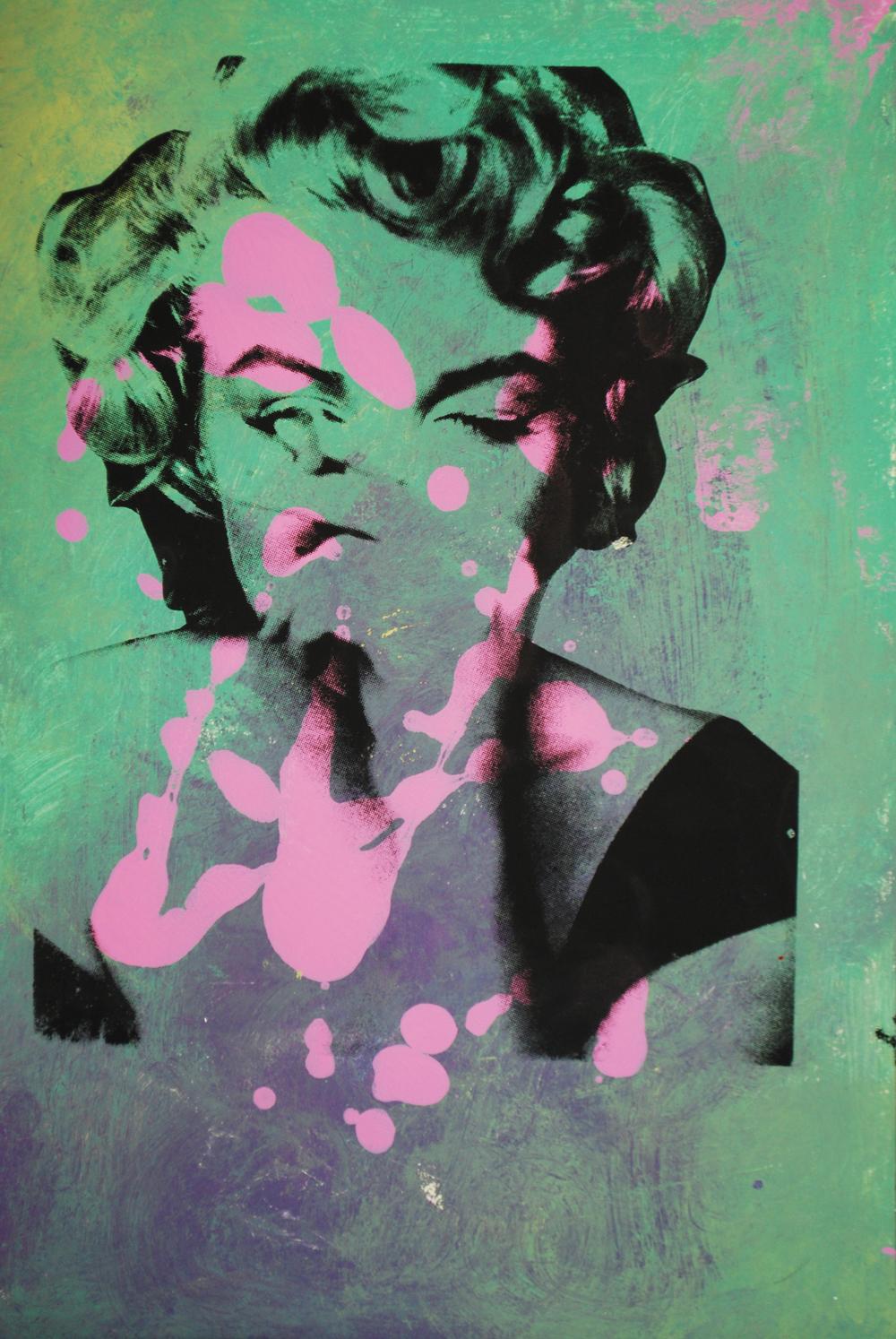 Marilyn 1. 20 x13 in