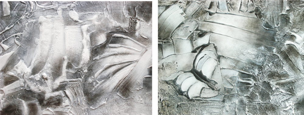Cenizas I, II, III 65 X 30 cm Sold / Vendido