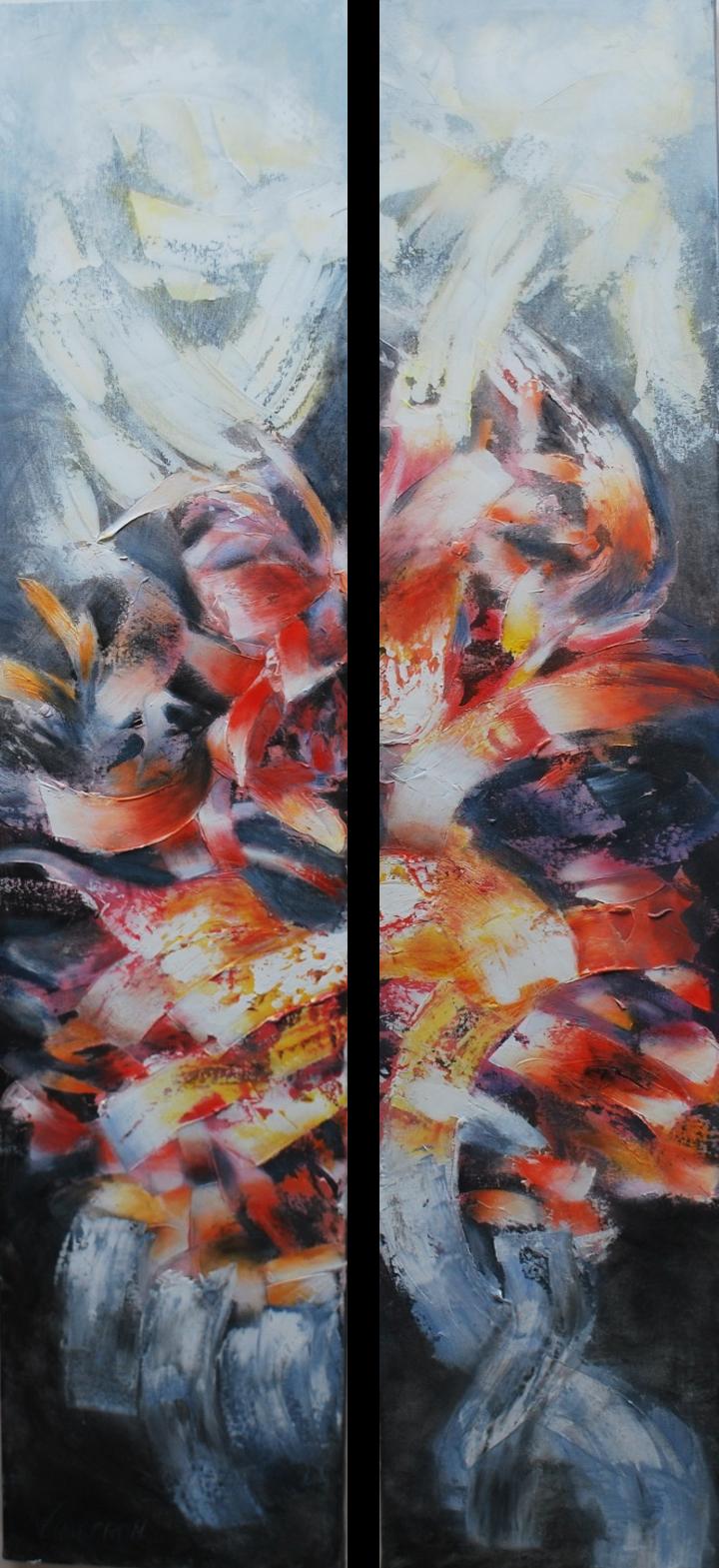 Metaforas Soñadas No I. 150 x 30 cm Sold / Vendido