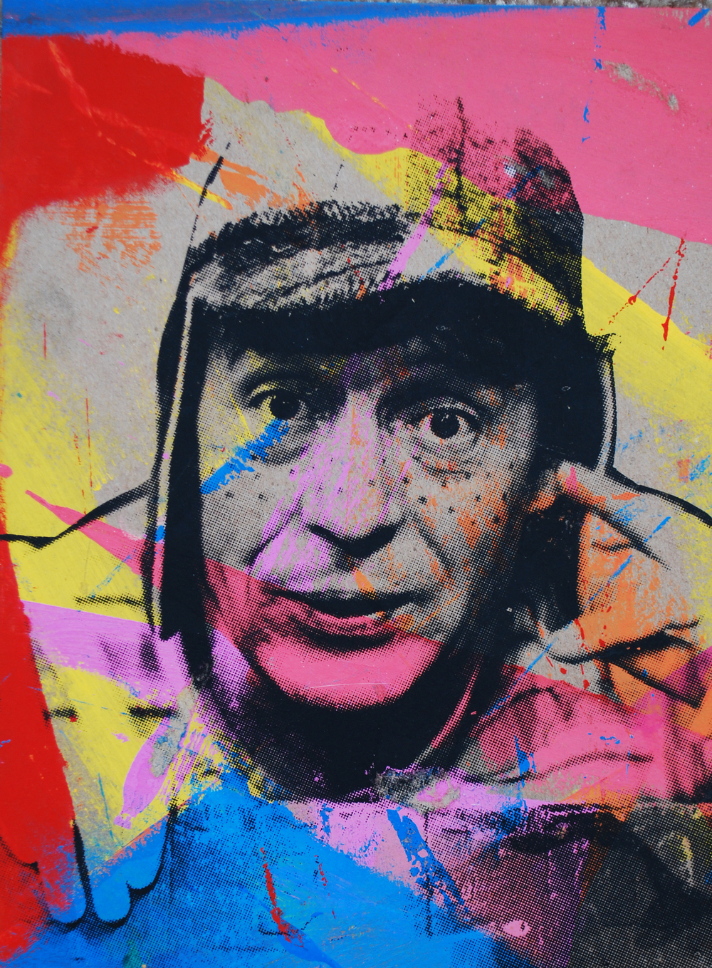 Chavo 1. 9 x 12 in