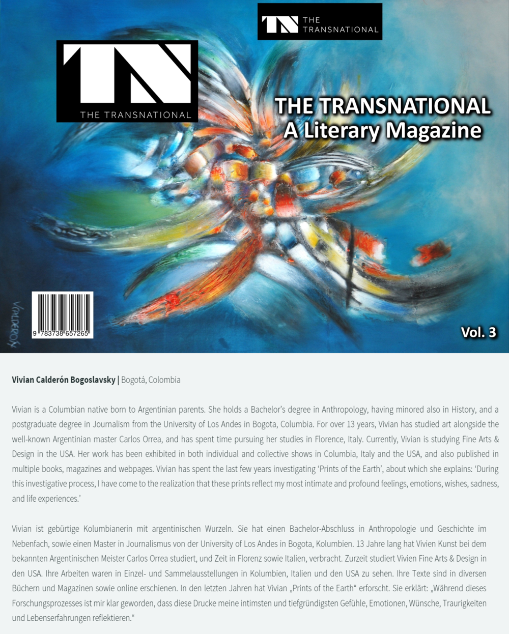 The Transnational A Literary Magazine Vol 3