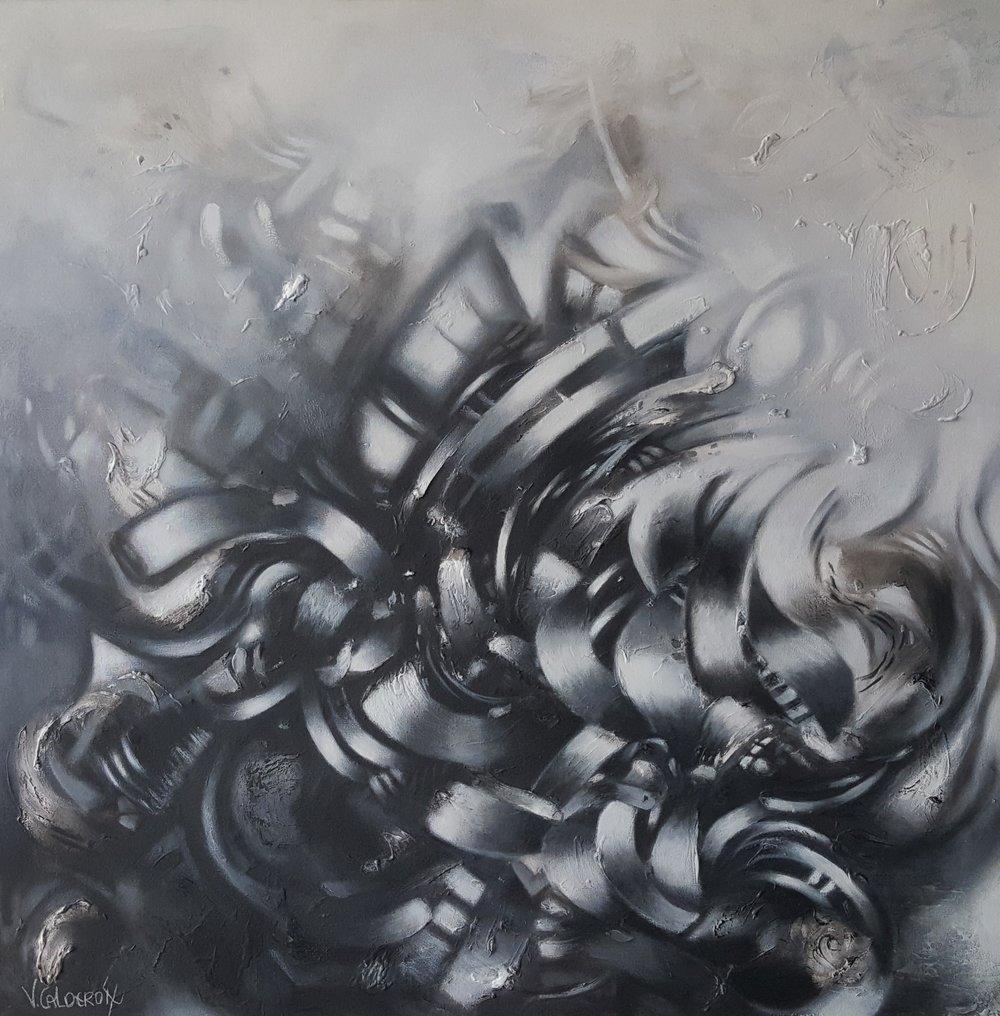 El Olvido de mis Sombras 100 x 100 cm Sold / Vendido