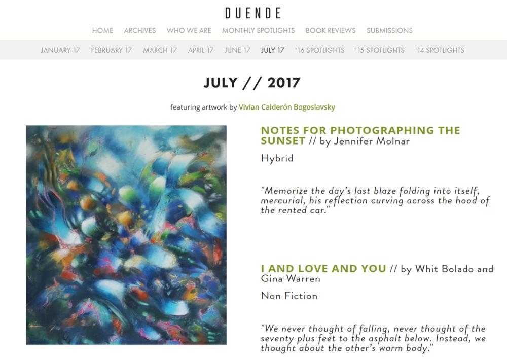 Duende Magazine