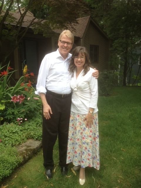 Kevin and with his friend and editor, Dr. Helen Marlais at a Cedar Rapids, MI Piano camp.