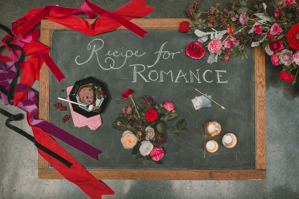 ruffled - recipe for romance styled shoot