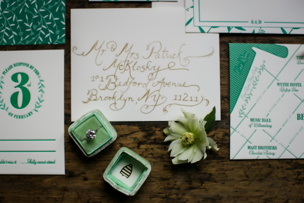 Ruffled - st. patrick's day-inspired wedding brunch styled shoot