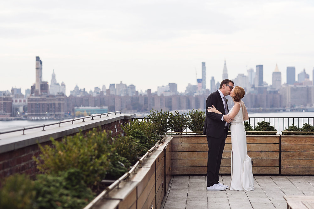 carats & cake - sarah & tom's wedding at the wythe hotel