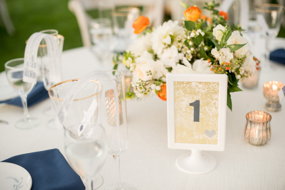 every last detail - AN ECLECTIC NAVY & ORANGE upstate NEW YORK WEDDING