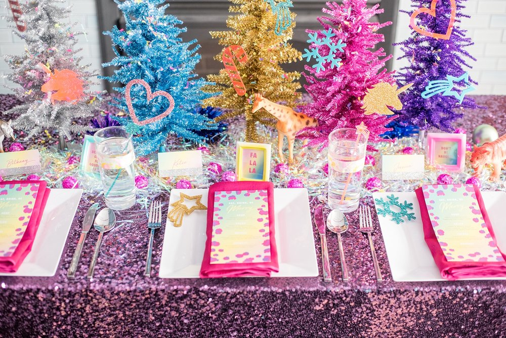 Lisa Frank Holiday Party Styled Shoot