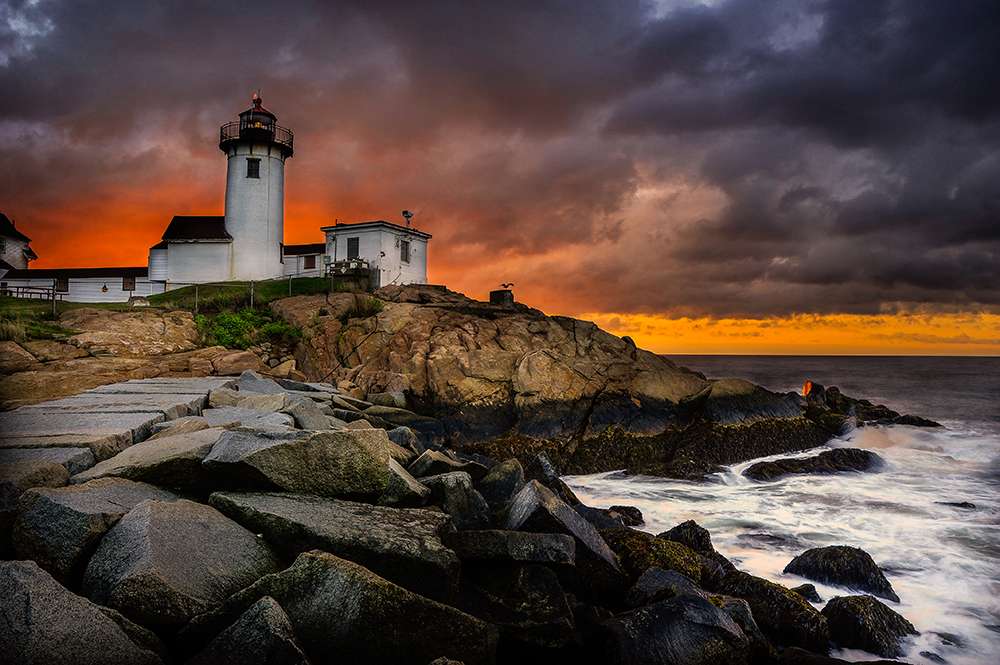 Lighthouse at Cape Ann #2