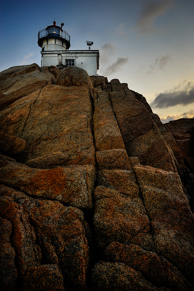 Lighthouse at Cape Ann #1