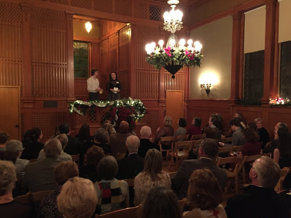 Such a well-attended event to end our year!  Thanks to all who joined us for this very special evening.