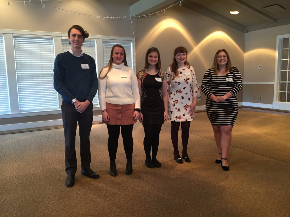 Annual AFO Scholarship Awards were announced!  Winners are Alexander Smith, Hannah Harrach, Darby Ronning, Cate Lillion and Bailey Wilson.  Congratulations to all of you!