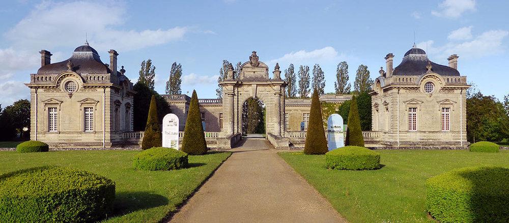The Franco-American Museum, Château de Blérancourt in Picardy, France.