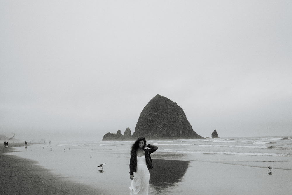 cannon beach, or .  june 2014 .