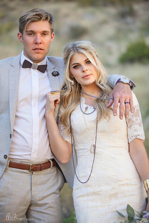 Earthy Glam Wedding Inspiration