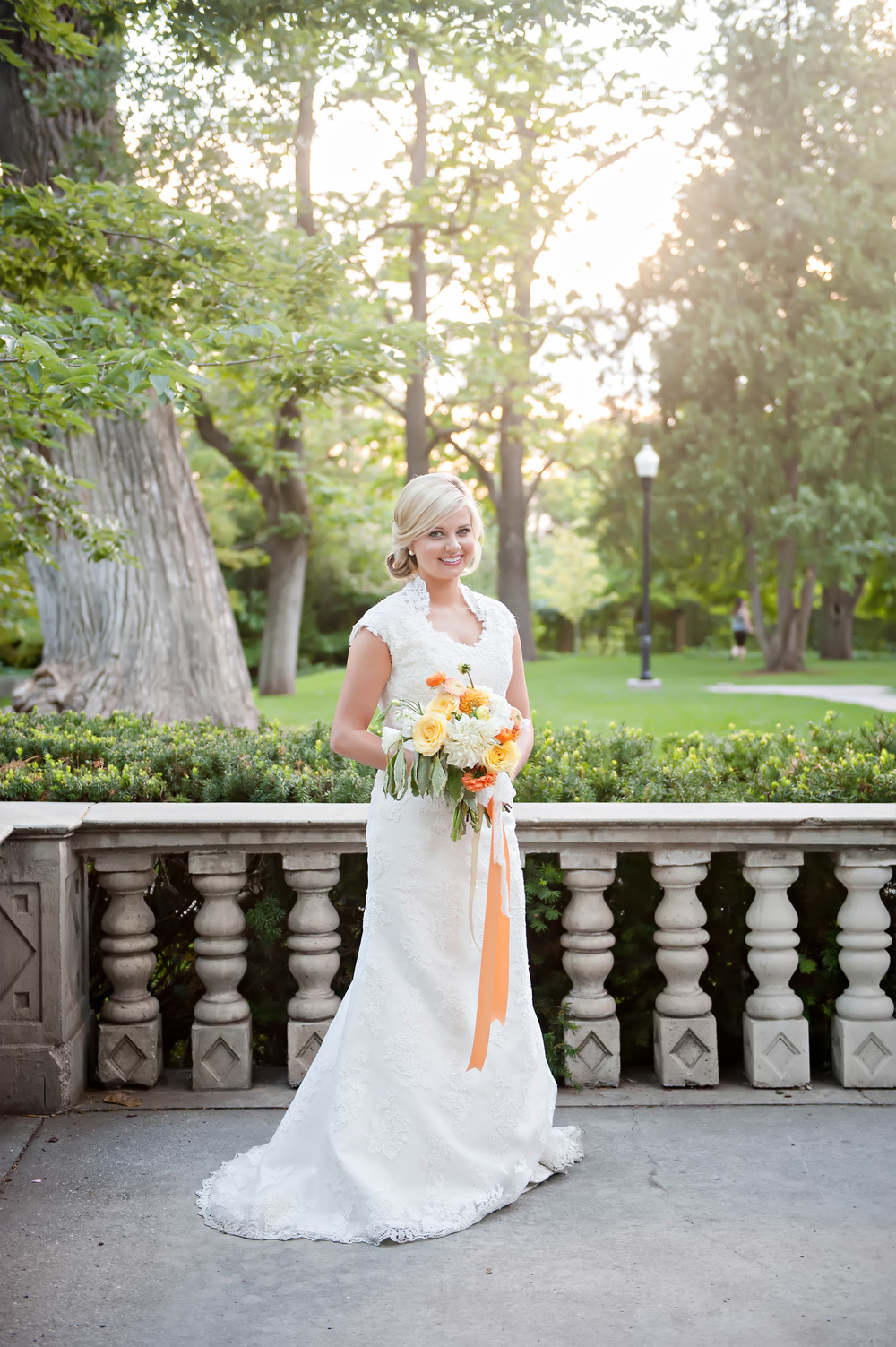 Citrus Wedding Inspiration / Flowers by Blushing Rose Floral
