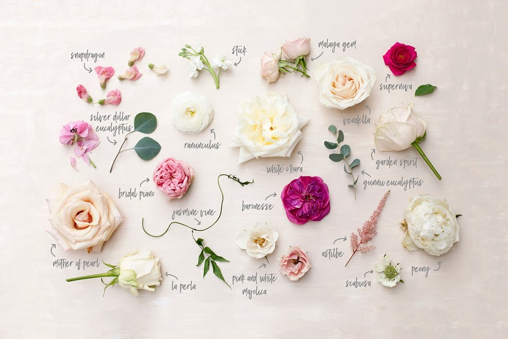 Bouquet Breakdown by Blushing Rose Floral | Utah Wedding Florist