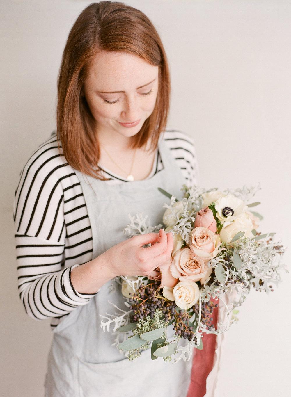Blushing Rose Floral | Sarah Rose Asay