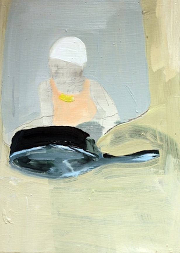 Frying Pan, oil on panel, 12 x 9 inches, 2012