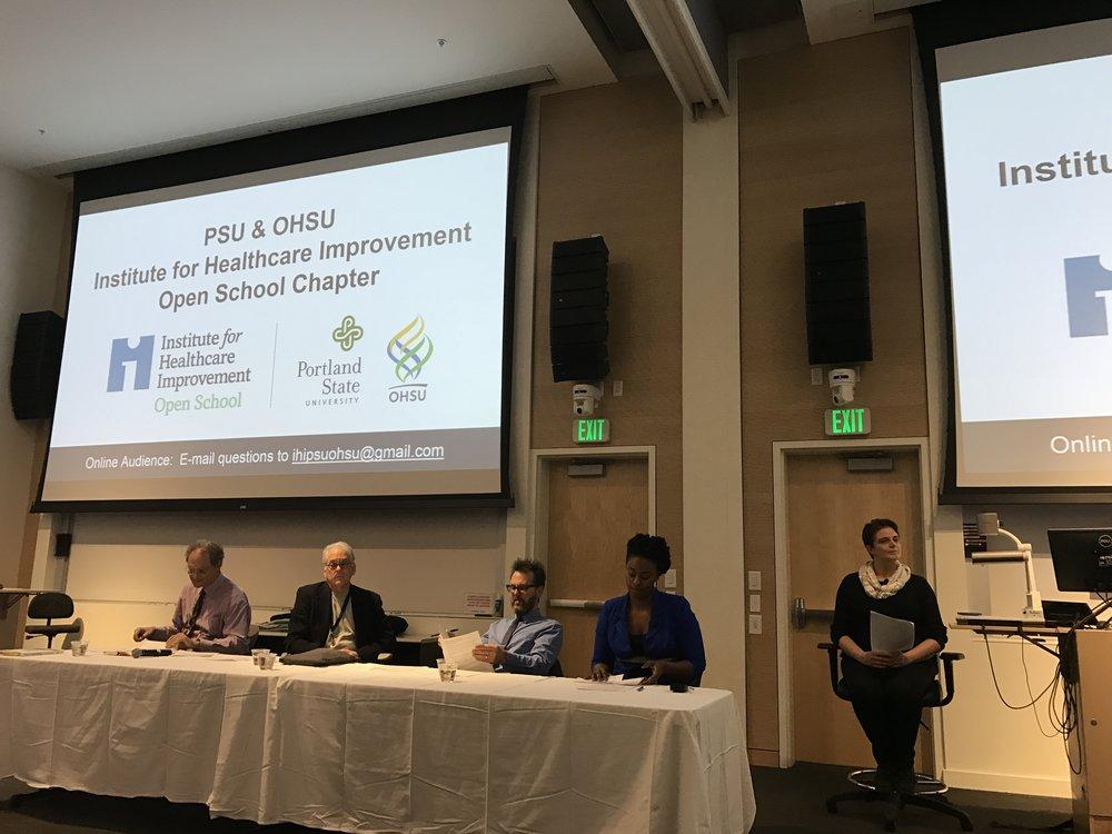 Panelists and Moderator.JPG