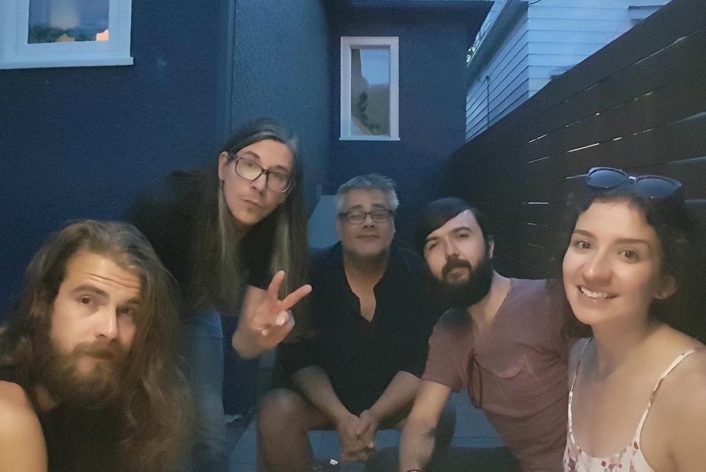 Bo, Ash, Paul, Dan and Ashley