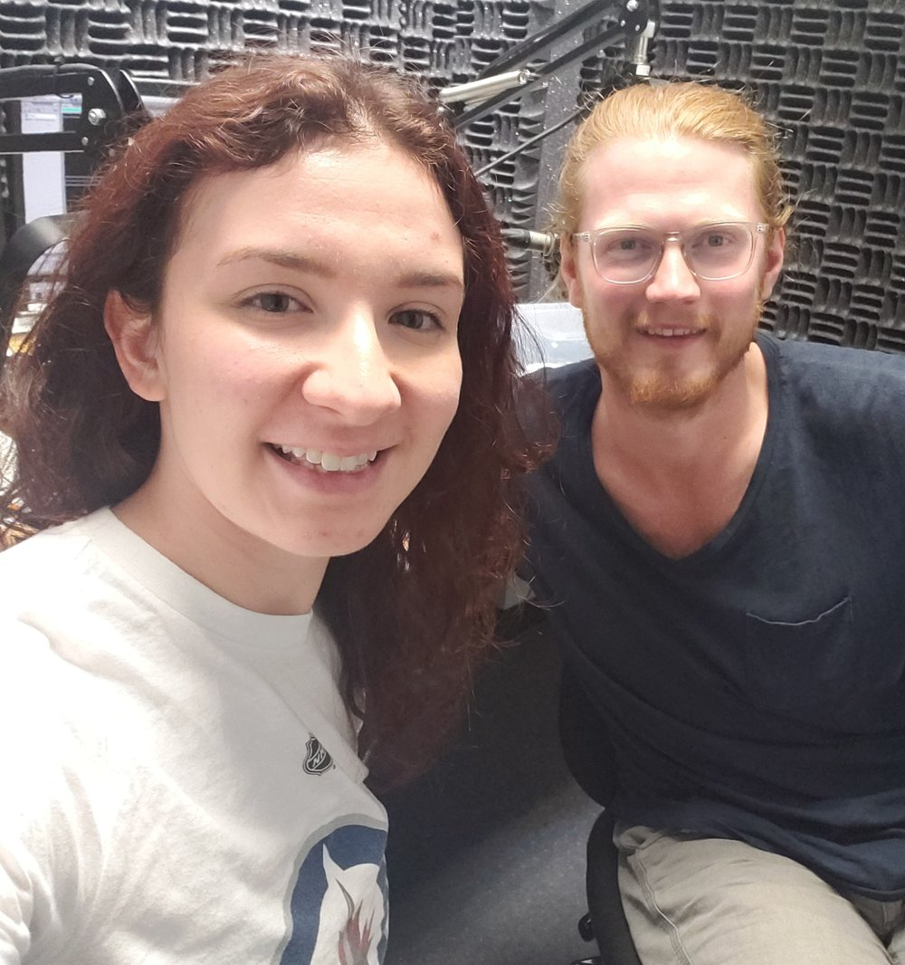 Ashley Bieniarz and Noah Derksen