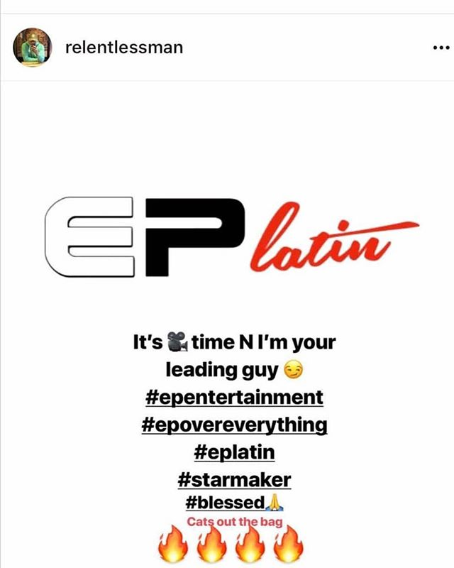 🚨🚨#EPEntertainment #EPLatin #Starmaker!! 🔥🔥#HistoryInTheMaking 💯@relentlessman @dstarmaker #Salute #POW!!! #Repost @dstarmaker ・・・ Blessed to be apart of something special @relentlessman @bobbyswigzz @being_ayden  @dapperman4556 @sinicalreturns @iamcedsolo #Epentertaiment #epovereverything