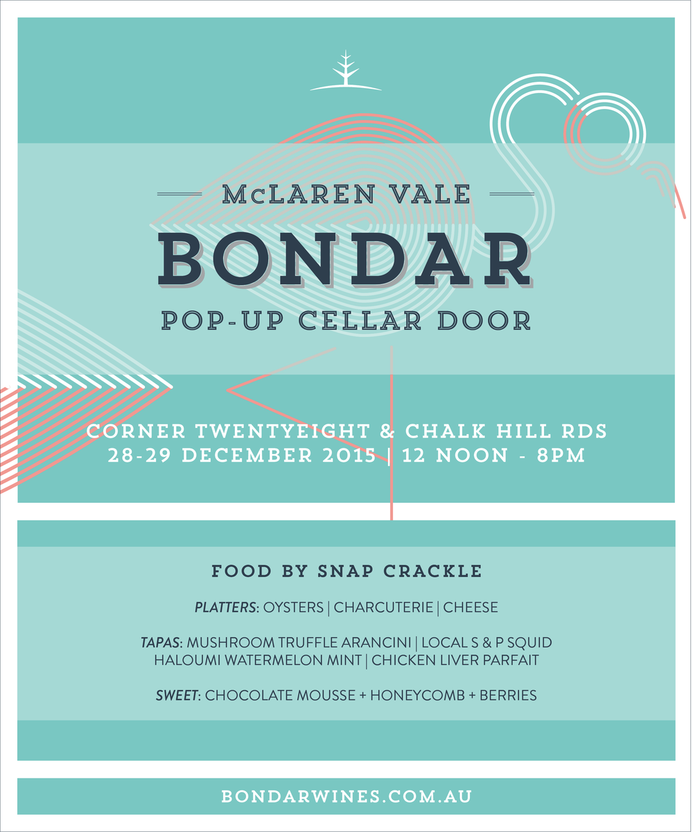 Bondar popup cellar door