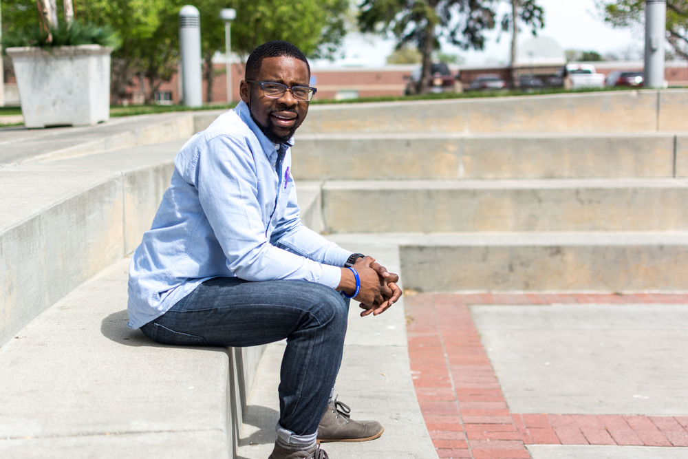 David Kabanje, junior theology major, will be serving as the new 2016-17 ASB president