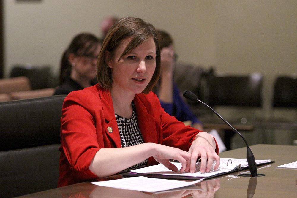 Senator Kate Bolz represents District 29 for Nebraska. PC: nebraskalegislature.gov