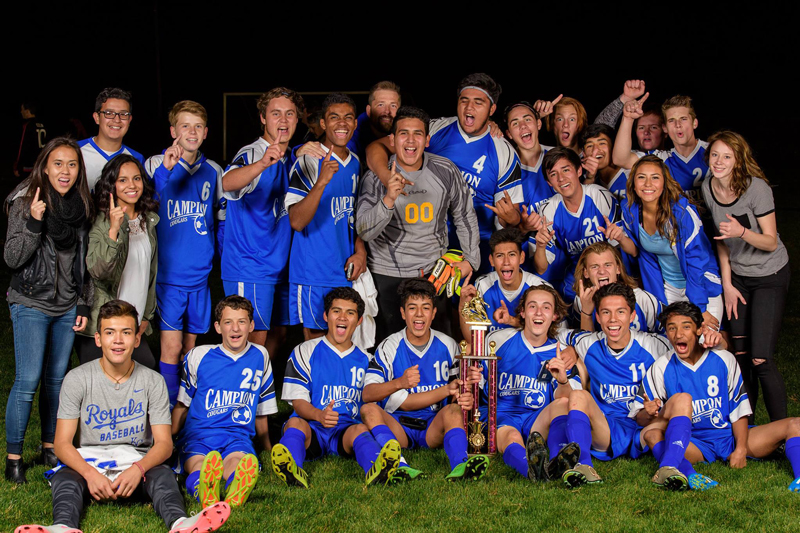 Campion Cougars took home the trophy after a 3-0 win. | PC: Marketing Communications
