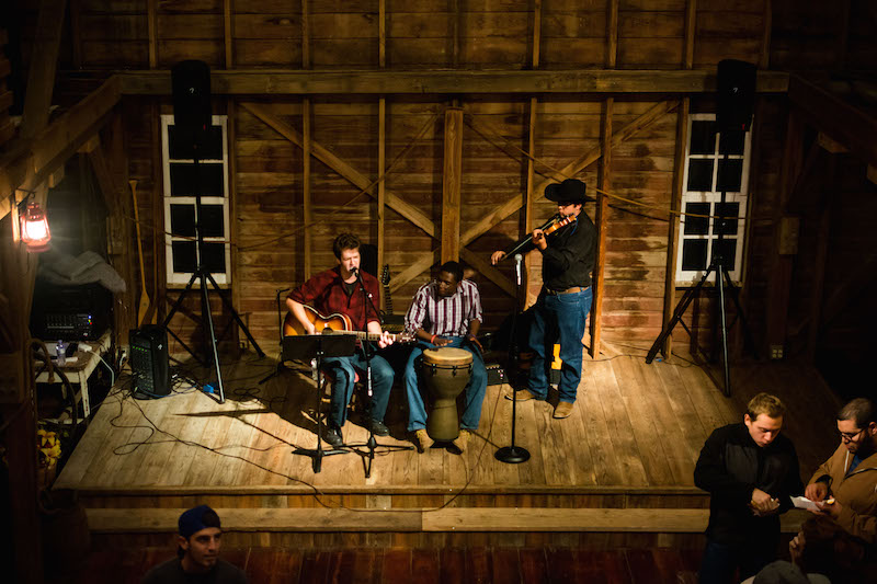 Live music uplifted the mood at ASB Barn Party. | PC: Zach Morrison