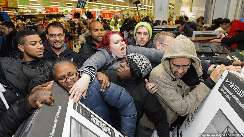 Black Friday is full of crowd roaring deals, but should shopping be for us? | PC: itprportal.com