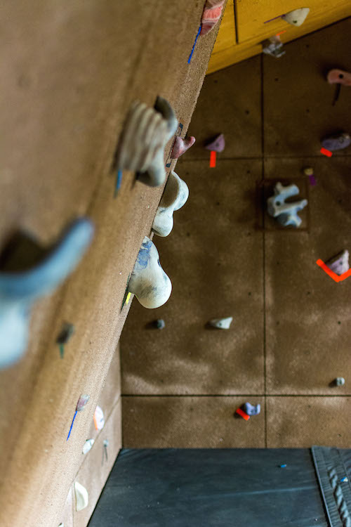 The bouldering wall isn't up yet, but keep an eye out on your emails for updates! | PC: Zach Morrison