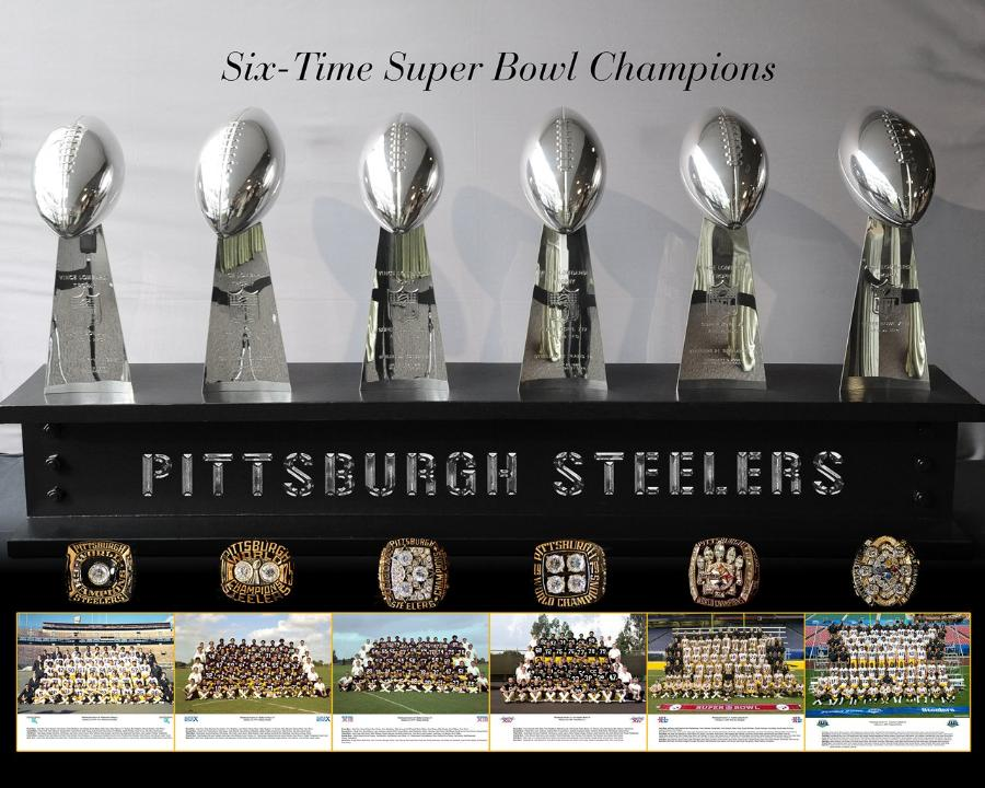 The Steelers are six time Super Bowl winners. Will they add number seven to the title? | PC: steeers.com